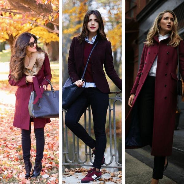 burgundy cute fall outfits burgundy fall outfit ideas burgundy fall fashion outfits easy fall outfits classic fall outfits casual burgundy outfits (2)