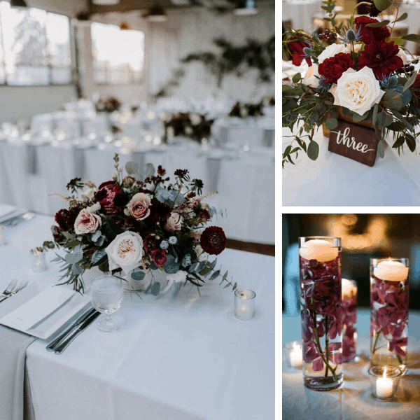 burgundy wedding centerpieces burgundy wedding cakes burgundy champagne rustic burgundy wedding burgundy wedding bouquet