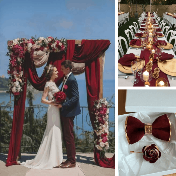 Plan Your 2020 Fall Burgundy Wedding Theme Party With These 140+ ...