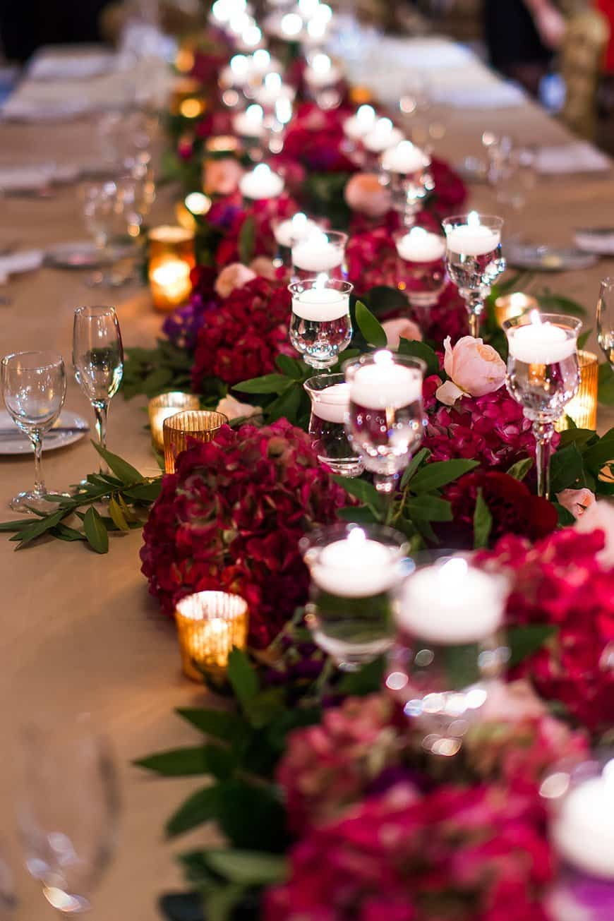 Here Are Some Cheap But Classy Burgundy Wedding Reception Ideas For Brides To Rock Their Marriage Ceremony (2021)