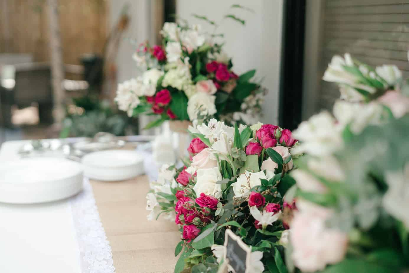 Unique Engagement Party Theme Ideas For Your Big Day : Check These Best Tips For Burgundy Wedding Decorations  (2021)