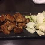 大山鶏の焼き鶏鉄板