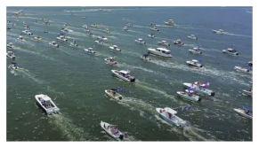 WATCH: Charleston MAGA Boat Parade supporting Trump