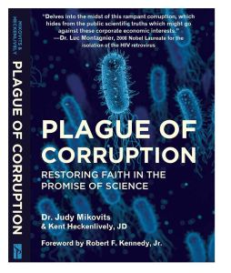 THE DR JUDY MIKOVITS BOOK 'PLAGUE  OF CORRUPTION' SOLD OUT IMMEDIATELY AFTER IT'S RELEASE IN APRIL AND IS CURRENTLY ONLY AVAILABLE AS A KINDLE EBOOK ON AMAZON!