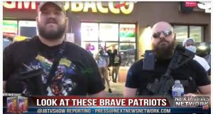 LOOK at these Brave Patriots Who Stepped in the FRONT LINE To Protect Business in Minneapolis!