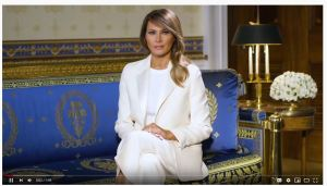 "First Lady Melania Trump:  ""I can do all things through Christ"""