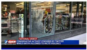 Conservative activist censored by Twitter while Antifa allowed to incite violence