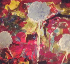 Dandys- acrylic on canvas
