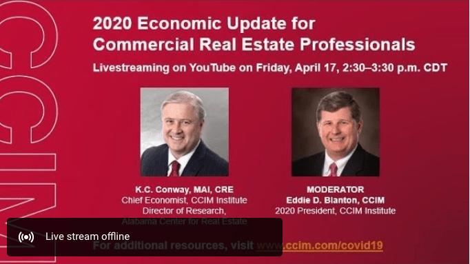 KC Conway Friday Economist Forecast