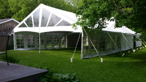Lawn Chair Tent & Pool Chaise Lounge