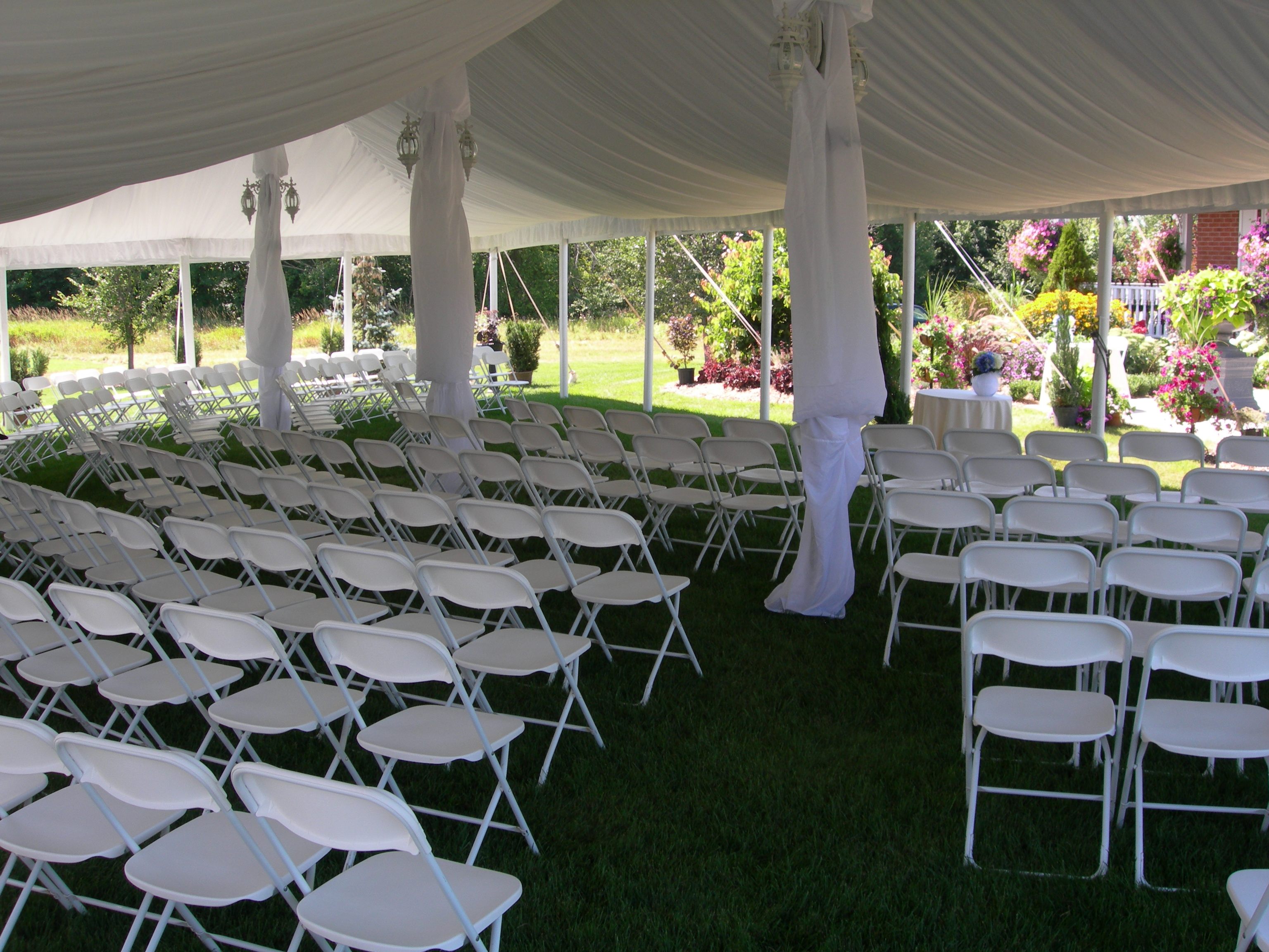 tent and chair rental wooden wedding chairs rentals linen from burke 39s