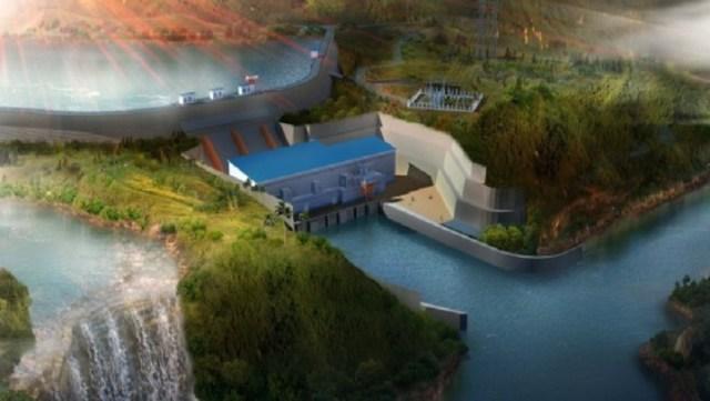 3 kaleta vue du barrage