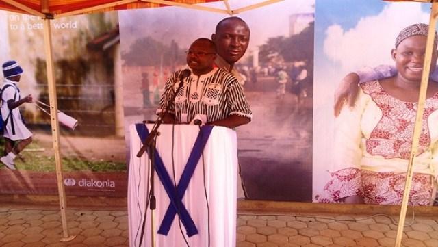 2 Luther Yaméogo, Directeur de Diakona Burkina