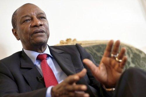 Alpha Condé a été le premier chef d'Etat à faire le déplacement de Ouaga pour l'investiture du socialiste Kaboré