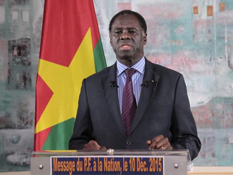 Le président Michel Kafando livrera encore un discours historique