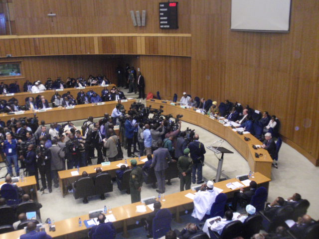 La session du conseil de paix et de sécurité a été reportée, faute d'accord