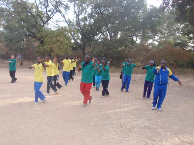 Les stagiaires en pleine action à Bangr weogo