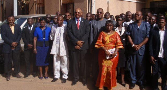 Personnel du ministère et de nombreux acteurs du secteur de l'énergie et des mines ont été témoins de la passation de charge