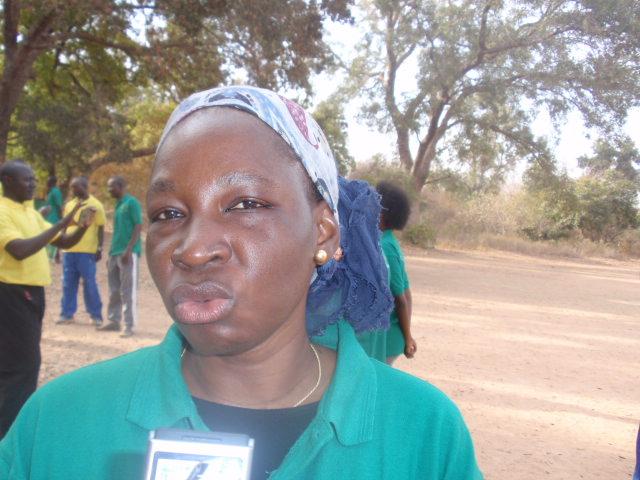Blandine sankara, participante : «Nous avons besoin de travailler notre corps»