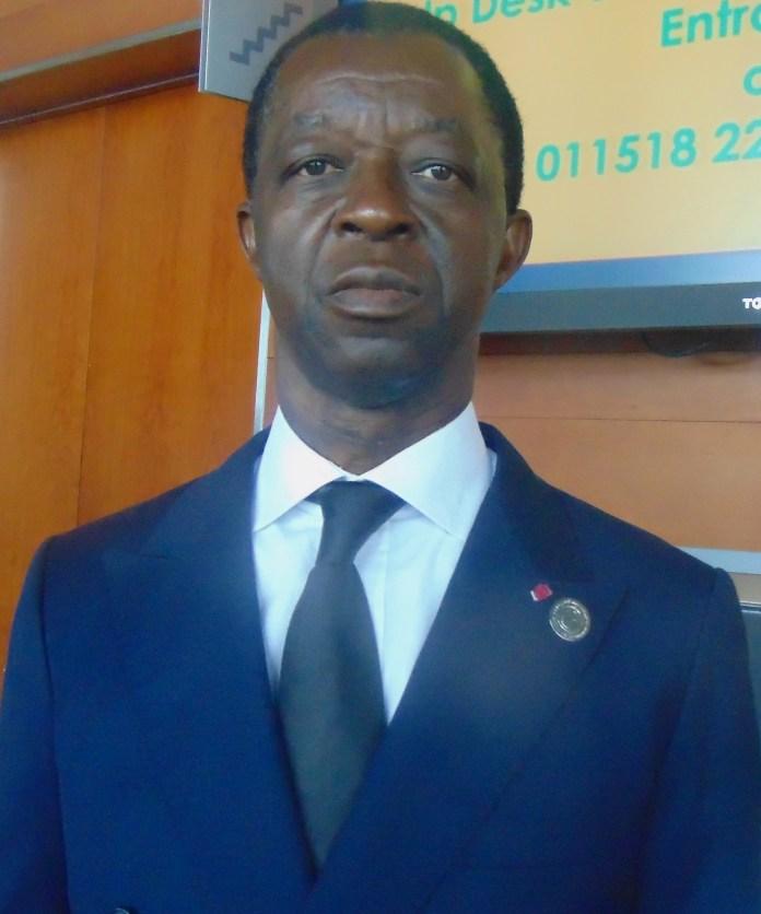 Roger Nkodo Dang, président du Parlement panafricain