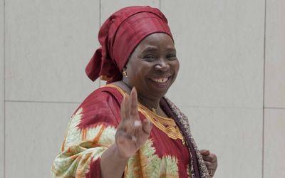 Nkosazana Dlamini Zuma, présidente de la Commission de l'Union africaine, n'a pas confirmé les rumeurs sur son départ