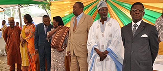 Les membres de la Cour constitutionnelle du Bénin