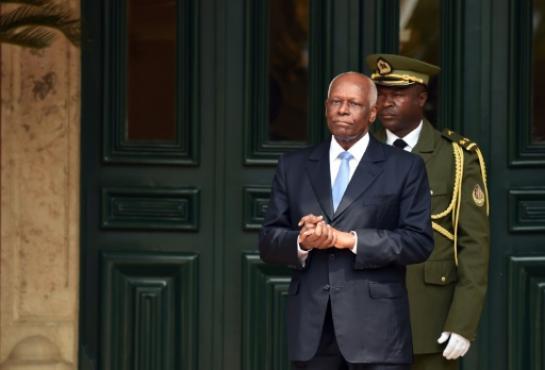 Le président José Eduardo Santos