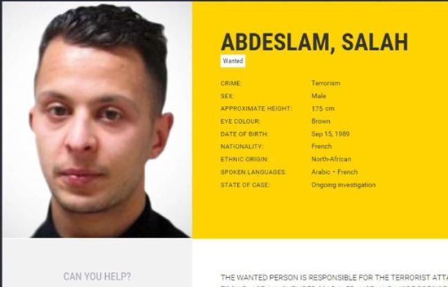 Salah Abdeslam est appréhendé en Belgique quatre mois après son forfait