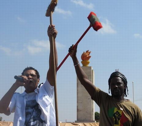 Le Balai citoyen aux avant-postes pour la défense des dossiers pendants