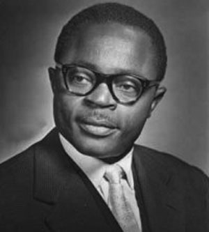 Maurice Yaméogo, le père de l'indépendance de la Haute Volta, aujourd'hui Burkina Faso