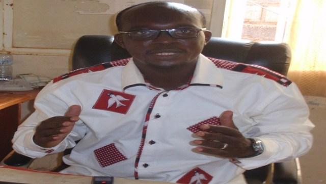 Issiaka Kaboré, directeur d'études au lycée Wend Manegda, place la présente rentrée sous le signe du professionalisme