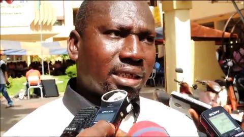 Le secrétaire général du SNAID, Nongo Grégoire Traoré