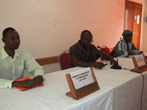 A l'ouverture de la session préparatoire à la COP22 ce mercredi matin à Ouagadougou