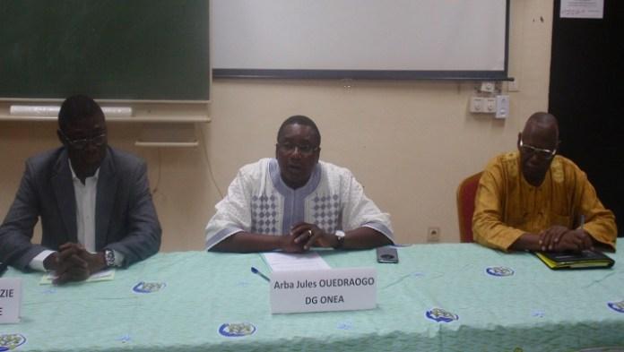 Pour le DG de l'ONEA, Arba Jules Ouédraogo, les maires sont des acteurs clés du service d'eau dans leurs communes