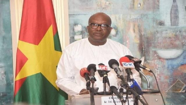 Le Président du Faso, Roch Marc Christian Kaboré, lors de son adresse à la nation, ce vendredi 16 décembre 2016