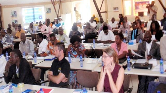 Les participants sont venus de différents de différentes structures déconcentrées du MENA et d'organismes partenaires