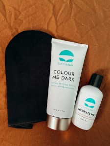 tanning products from organic tan