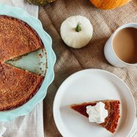 Miraculous Canadian Sugar Pie