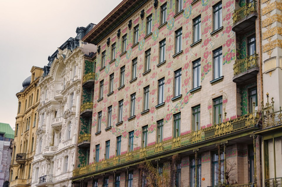Majolikahaus, Vienna