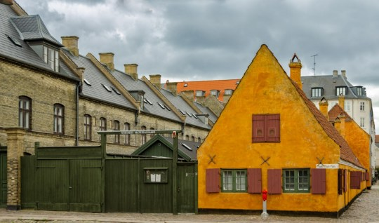 Old Navy barracks, Copenhagen