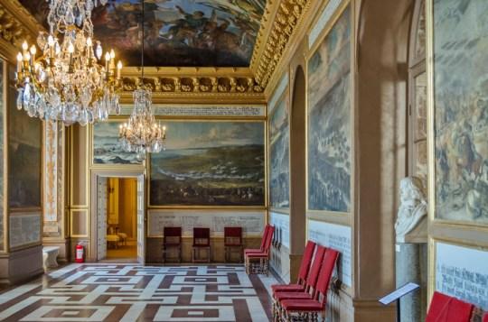 Inside Drottningholm Palace, Stockholm