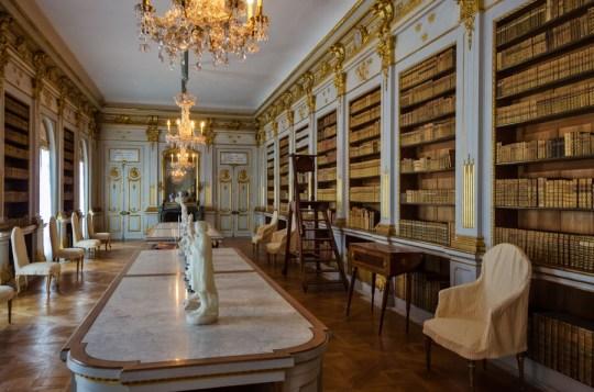 Library at Drottningholm Palace, Stockholm