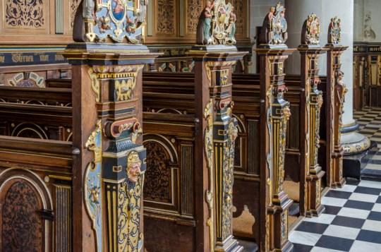Inside Chapel at Kronborg Castle, Helsingor, Denmark