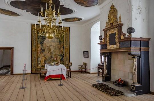 Inside Kronborg Castle, Helsingor, Denmark