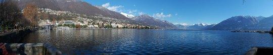 Lake Maggiore at Locarno