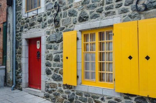 In Quartier Petit Champlain, Quebec City