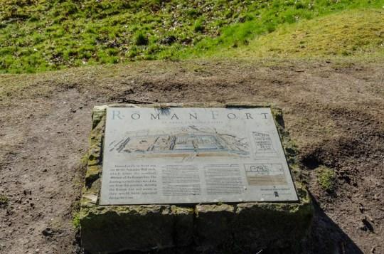 Antonine Wall at Rough Castle, Scotland