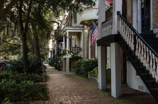 In Savannah, Georgia