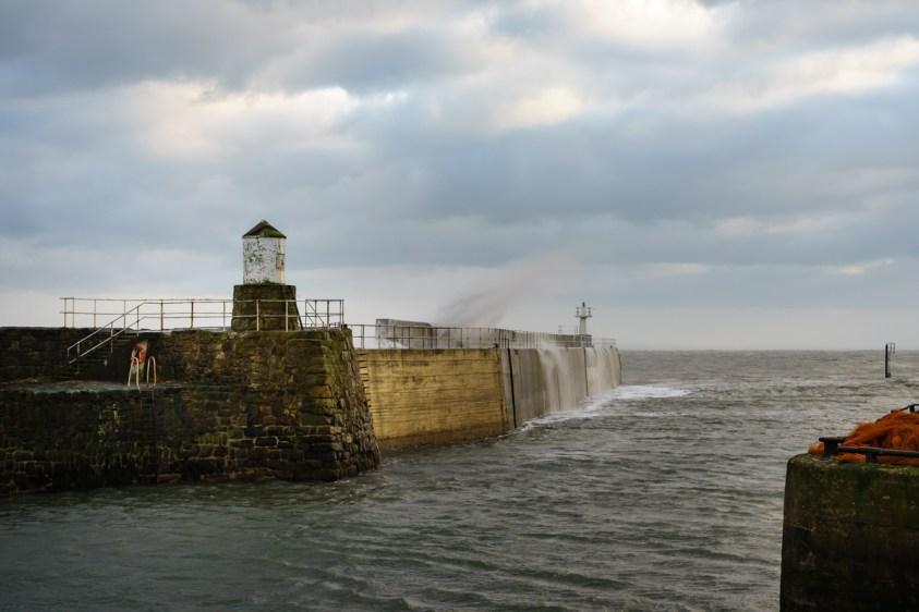 Pittenweem harbor, Scotland