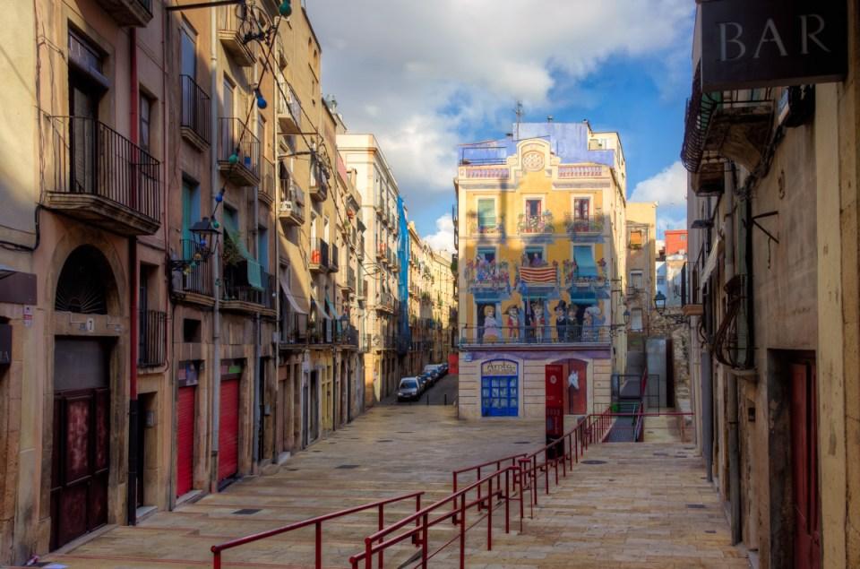 Plaça dels Sedassos, Tarragona, Catalonia, Spain